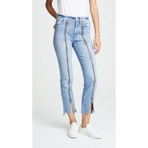 MOTHER HIGH WAISTED RASCAL MISBELIEVER JEANS 27